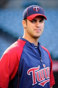 Joe Mauer can't help but be adorable.