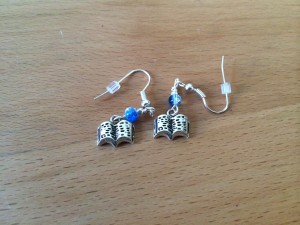 Bookish Earrings