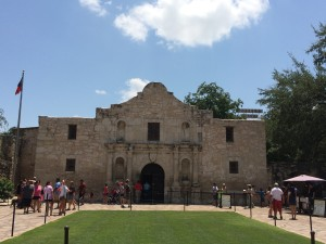 I remembered to visit the Alamo!