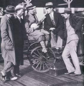 Casual men's fashion of the 1920s